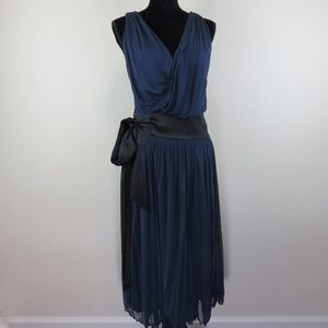 Diane von Furstenberg Blue Wrap Dress